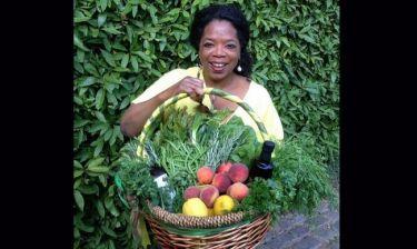 Η Όπρα Γουίνφρεϊ  μας ξεναγεί στον κήπο της