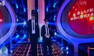 Λιβιτσάνου-Καζάκος: Οι «Blues Brothers» του «Your face sounds familiar»