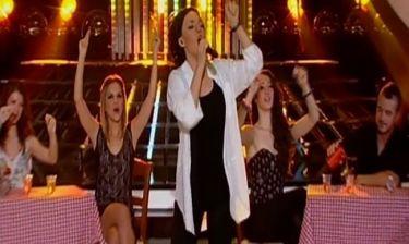 Η Κρυσταλλία «ανέβασε» το κέφι ως Πρωτοψάλτη στον τελικό του «Your face sounds familiar»