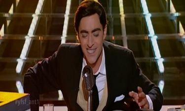 Δημήτρης Χορν στο τελευταίο live του «Your face sounds familiar» ο Θανάσης Αλευράς