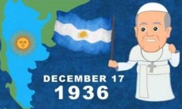 Η ζωή του Πάπα Φραγκίσκου σε… καρτούν!