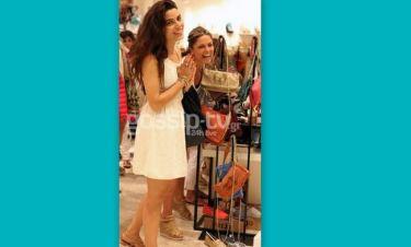 Τα ψώνια της Σωτηροπούλου με την Λάσπα και η βόλτα με τον αγαπημένο της!