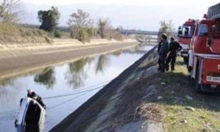 Ηλεία: Έπεσαν με το εγγόνι τους σε κανάλι 5 μέτρων