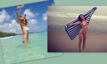 Heidi Klum-Emmy Rossum: Στην παραλία ανήμερα της εθνικής εορτής