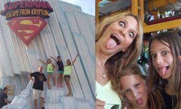 Δείτε στιγμιότυπα από τις οικογενειακές διακοπές της Ναθαναήλ στις Ηνωμένες Πολιτείες!