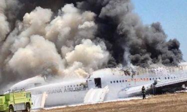 Asiana Airlines: Δεν οφείλεται σε μηχανική βλάβη η συντριβή