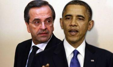 Έτσι κλείστηκε το ραντεβού Σαμαρά – Ομπάμα