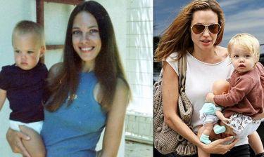 Η Angelina είναι ίδια με τη μαμά της. Δείτε φωτογραφίες των παιδικών της χρόνων