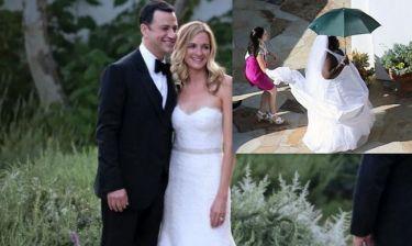 Φωτογραφίες από τον γάμο του Jimmy Kimmel και η φάρσα που του έκαναν!