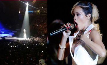 Οι θαυμαστές της της πέταξαν πατατάκια και η Rihanna τους έβρισε