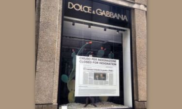 «Κλειστά λόγω αγανάκτησης» θα παραμείνουν τα καταστήματα των D&G