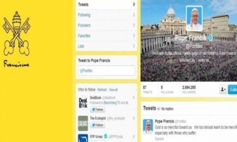 Άφεση αμαρτιών για... τους followers του Πάπα