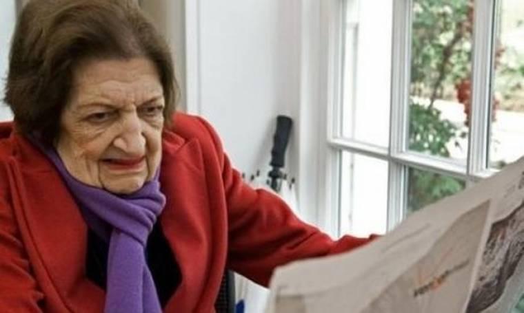 «Έφυγε» η δημοσιογράφος Έλεν Τόμας
