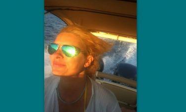 Η «καπετάνισσα» Ελένη Μενεγάκη!