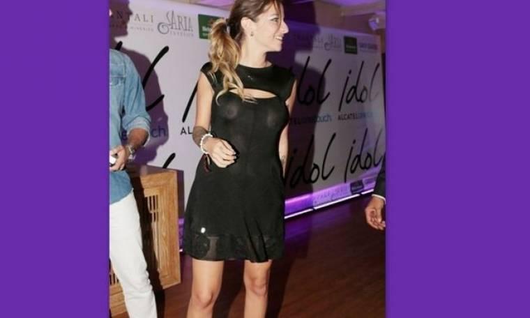 Μα καλά, δεν είπε κανείς στην Εριέττα ότι το φόρεμα είναι διάφανο;