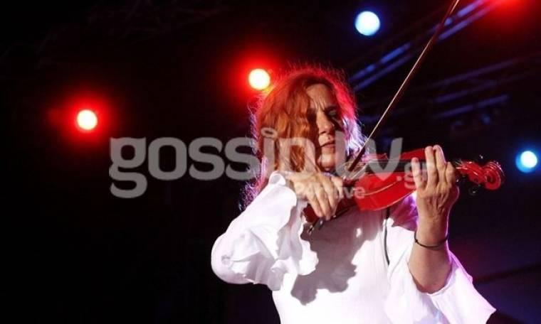 Η Ευανθία Ρεμπούτσικα μάγεψε με το βιολί της