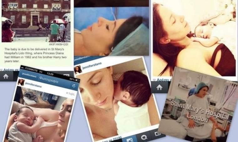 Η Τζένιφερ Στάνο Δαυίδ δημοσίευσε το βίντεο της καισαρικής της και δήλωσε πως γέννησε στο ίδιο δωμάτιο με την Κέιτ Μίντλετον