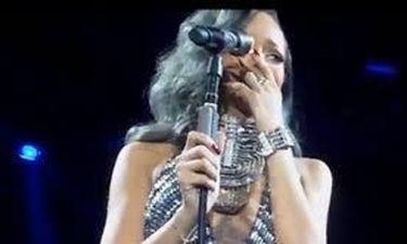 Ξέσπασε σε κλάματα η Rihanna