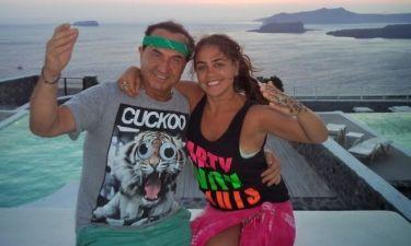 Λευτέρης Πανταζής: Καλοκαιρινές διακοπές με την κόρη του