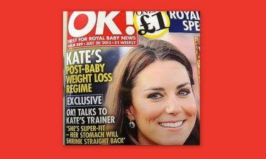 Σάλος με εξώφυλλο περιοδικού που ασχολείται με τα κιλά της Middleton!