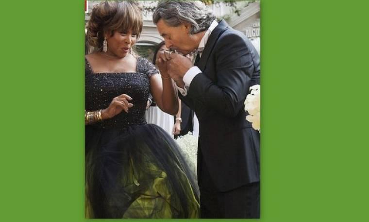 Φωτογραφίες από το γάμο της Tina Turner!