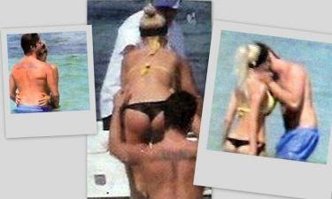 Οικονομόπουλος-Κάβουρα: Καυτά φιλιά και αγκαλιές στην παραλία