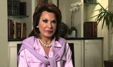 Γιάννα Αγγελοπούλου: Στη Νέα Υόρκη για χειρουργική επέμβαση στη μέση της