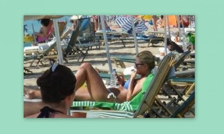 Παπαράτσι: Δείτε τη Μαρία Ηλιάκη χωρίς ρετούς στην παραλία!!! (Nassos blog)