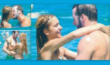 Πρέλεβιτς-Χαριτόπουλος: «Καυτά» φιλιά και παιχνίδια στην θάλασσα