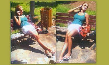 Στέλλα Καλλή: «Χύθηκε» στο παγκάκι