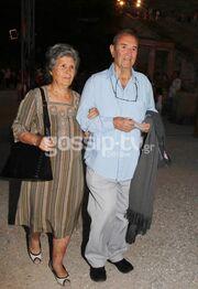 Γιάννης Βογιατζής: Στην Επίδαυρο με την σύζυγό του