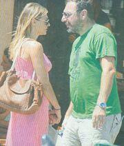 Ζέτα Δούκα: Διακοπές με τον αγαπημένο της στην Πάτμο!