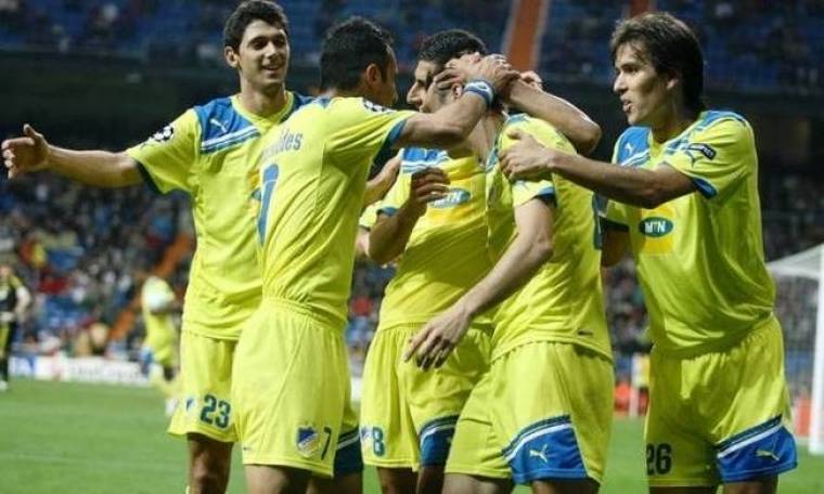 Champions League: Για το «διπλό» πρόκρισης ο ΑΠΟΕΛ
