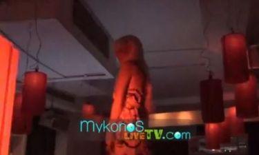 Ο «καυτός» χορός της Τζούλιας Αλεξανδράτου!