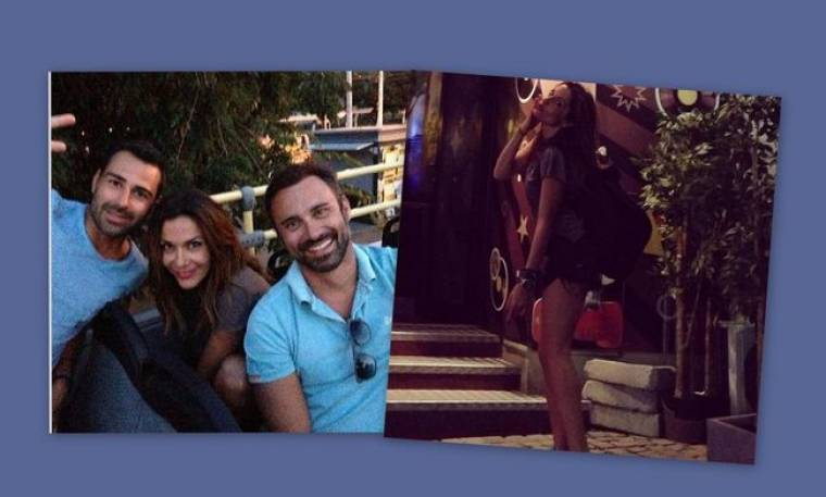 Βανδή-Καπουτζίδης: Νέες φωτογραφίες από τις διακοπές τους