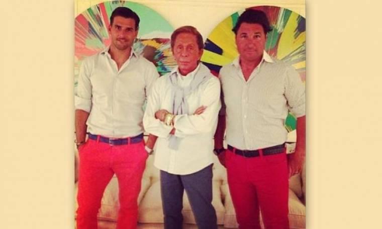 Ηλίας Ψινάκης: Του λείπει η παρέα του Valentino!