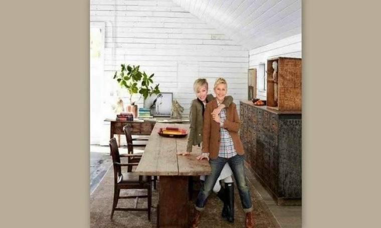 Το design αγροτόσπιτο της Ellen DeGeneres και της γυναίκας της πωλείται