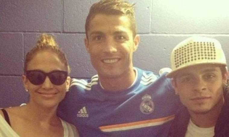 Ρεάλ Μαδρίτης: Όταν ο Ρονάλντο συνάντησε Τζέι Λο και Σακίλ! (photos)