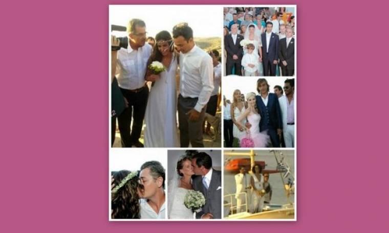 Άρωμα θάλασσας: Oι γάμοι των celebrities στα ελληνικά νησιά!