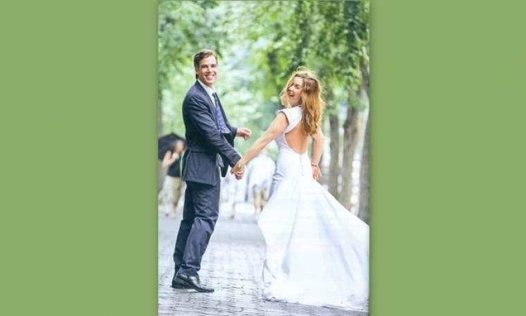 Αντωνοπούλου-Αρκουμανέας: Το φωτογραφικό άλμπουμ του γάμου τους