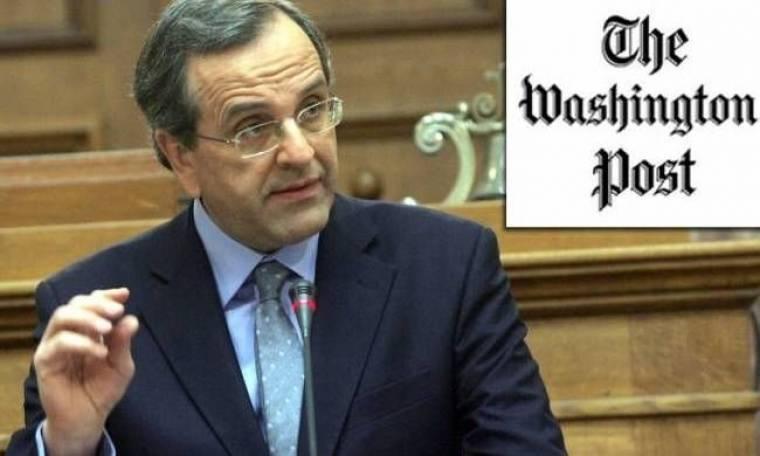 «Ο Αντώνης Σαμαράς προωθεί την Ελλάδα ως προπύργιο σταθερότητας»