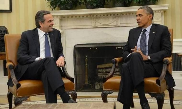 Όλα όσα συζήτησαν Σαμαράς – Ομπάμα