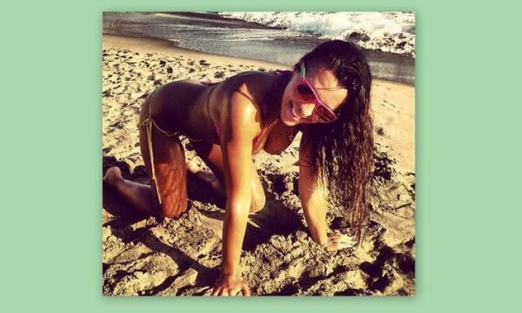 Χριστίνα Πάζιου: Έτοιμη για γυμναστική!