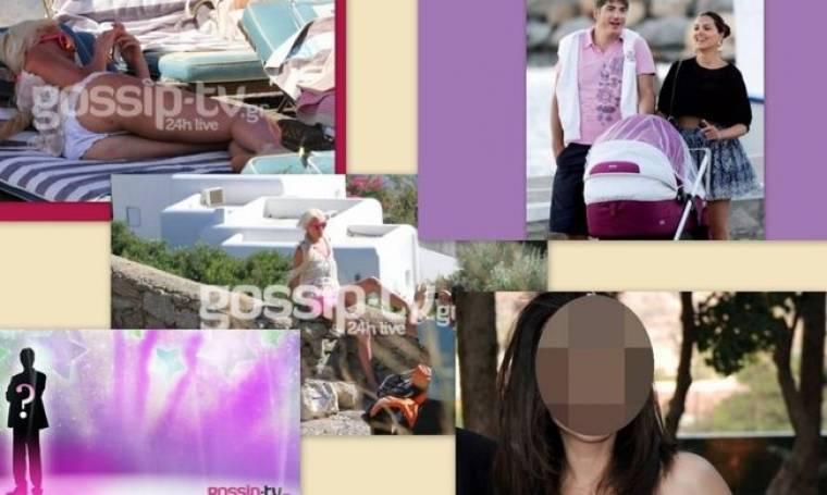 Ο χωρισμός παρουσιάστριας, οι μελανιές της Τζούλιας, η Τσιμτσιλή με μαγιό και ο Έλληνας ηθοποιός που πάσχει από AIDS
