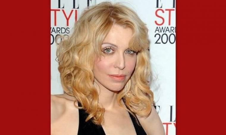 Δείτε την εφιαλτική όψη της Courtney Love χωρίς μακιγιάζ!