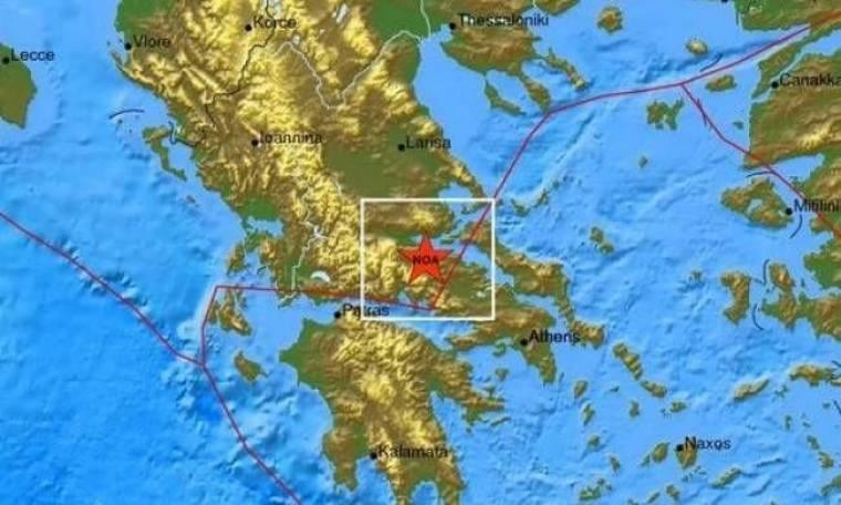 Συνεχίζονται οι σεισμοί στον Δήμο Αμφίκλειας-Ελάτειας