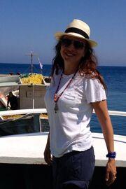 Ποια ηθοποιός απολαμβάνει τις διακοπές της στη Χάλκη;