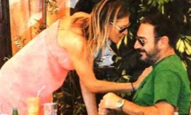 Ζέτα Δούκα: Με τον αγαπημένο της στην Τήνο