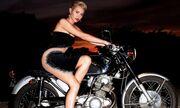 Σέξι μηχανόβια η Miley Cyrus