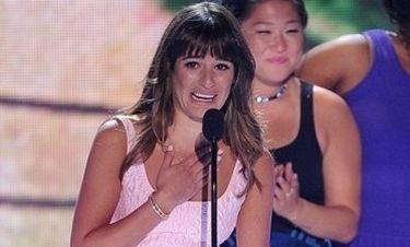 Lea Michele: Ξέσπασε σε κλάματα όταν αφιέρωσε το βραβείο της στον Cory Monteith